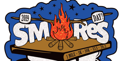 2019 S'mores Day 1 Mile, 5K, 10K, 13.1, 26.2 -Olympia
