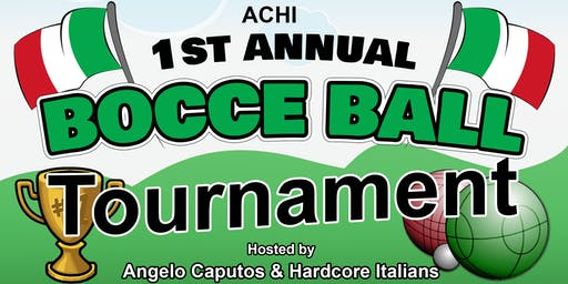 ACHI 1st Annual Bocce Tournament