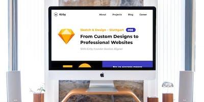 From Custom Designs to Professional Websites with Kirby Founder Bastian Allgeier (Sketch & Design Stuttgart)
