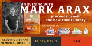 An Evening with Mark Arax (Limited tickets now only...
