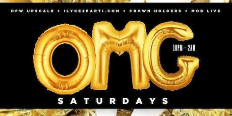 OMG Saturdays presents OMG Saturdays at Sidebar tickets