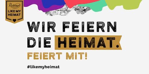 #LIKEMYHEIMAT - Heimatfeierei