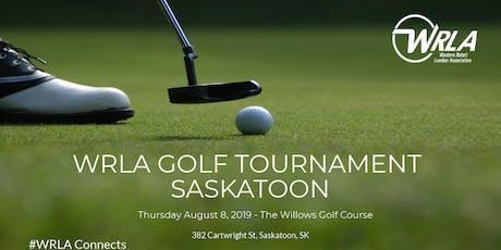 2019 WRLA   Golf Tournament Saskatoon tickets