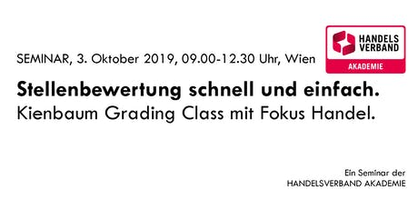 SEMINAR Stellenbewertung schnell und einfach: Kienbaum Grading Class billets
