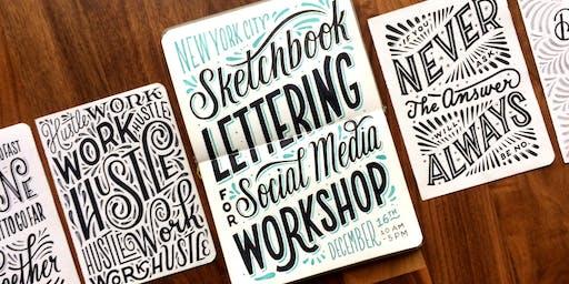 Sketchbook Lettering for Social Media