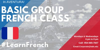 Basic French Group Classes