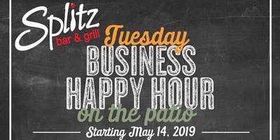 Tuesday Business Happy Hours on the Patio