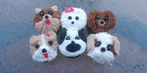 Adogable Cupcake Decorating Class