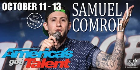 AGT Comedian Sam Camroe Live in Naples, Florida tickets