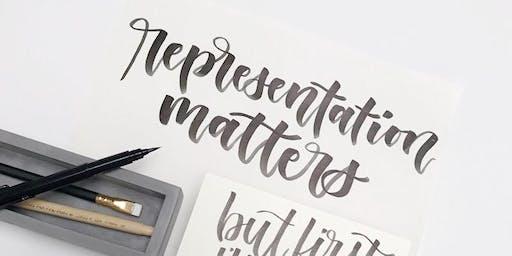 Brush Calligraphy LAB