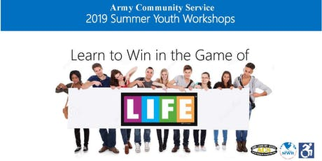 ACS Summer Youth Workshops - The Game of Life: Interactive Financial Literacy tickets