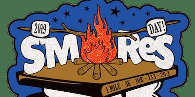 2019 S'mores Day 1 Mile, 5K, 10K, 13.1, 26.2 -Little Rock