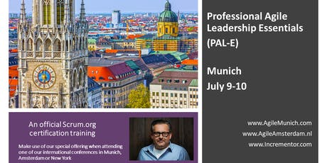 Professional Agile Leadership training (PAL-E) | July 9-10 in Munich by Jochen Krebs tickets