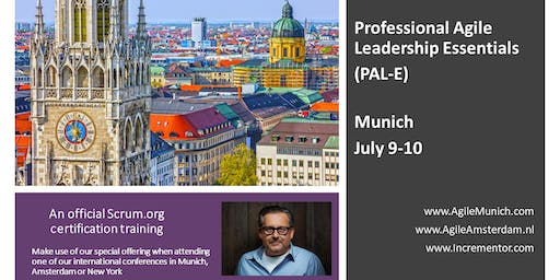 Professional Agile Leadership training (PAL-E) | July 9-10 in Munich by Jochen Krebs