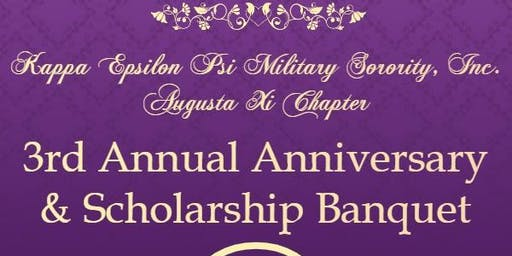 Augusta Xi Chapter 3rd Annual Anniversary and Scholarship  Gala