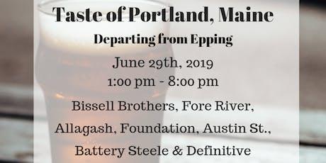 Taste of Portland, Maine - Beer Tour 6/29 tickets