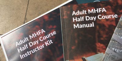 Mental Health First Aid (MHFA England) Half Day Course