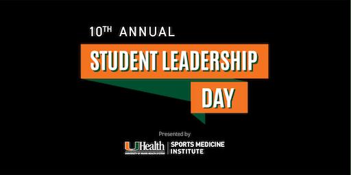 University of Miami Sports Medicine Institute: Student Leadership Day 2019