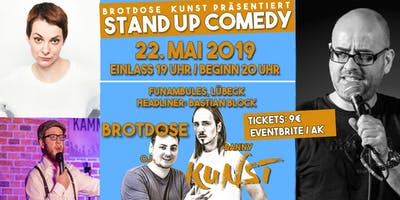 Brotdose Kunst Stand Up Comedy Lübeck #5 - Headliner: Bastian Block