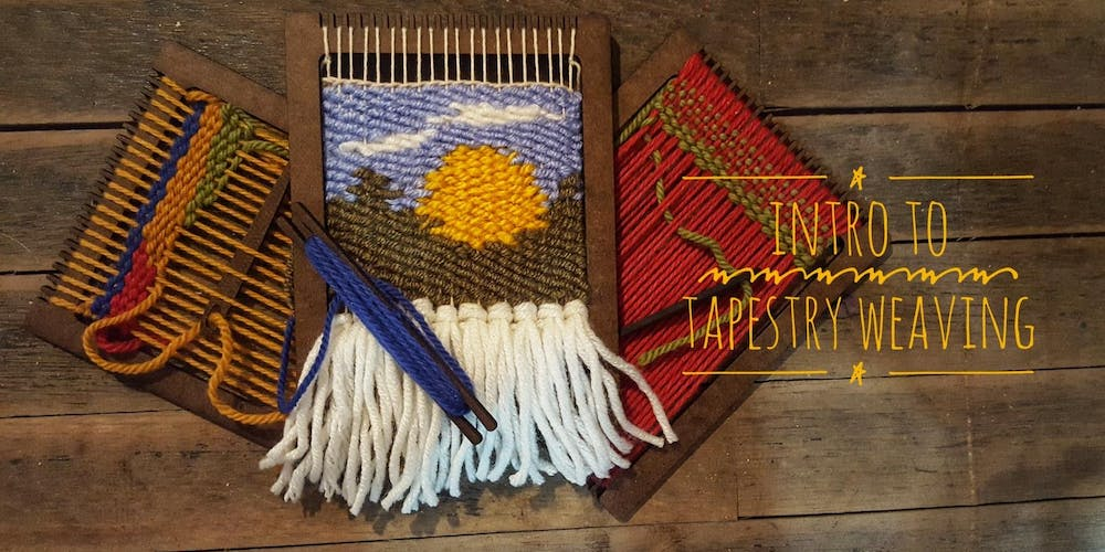 6a33732ee12b9a Intro to Tapestry Weaving Tickets