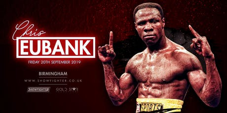 An Audience with Chris Eubank Snr tickets