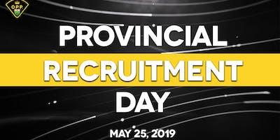 Toronto - Provincial Recruitment Day