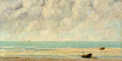Palate to Palette : Courbet's Calm Sea