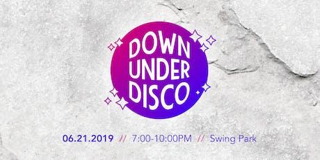 Down Under Disco tickets