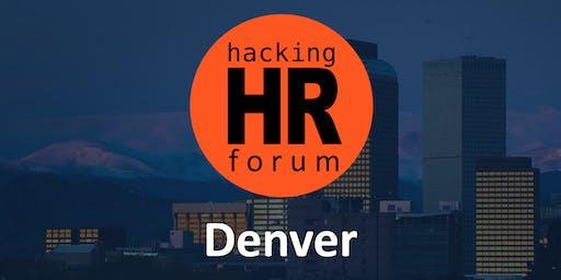 Hacking HR Forum Denver 2019