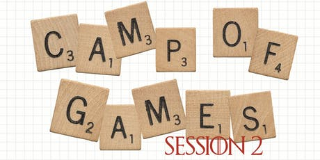 Camp of Games: Session 2 tickets