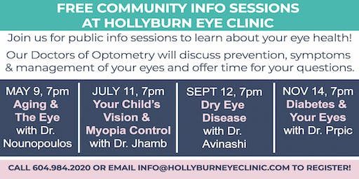 FREE Info Sessions on Your Eye Health