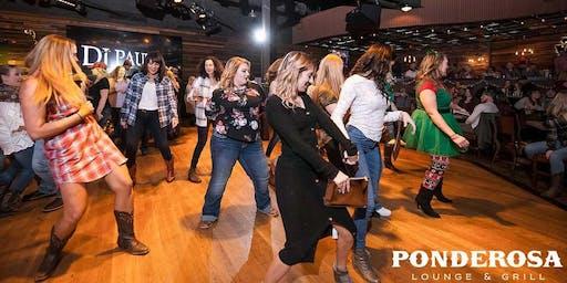 Line Dancin' Ladies Night