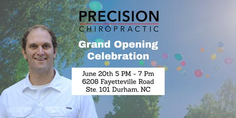 Grand Re-Opening: Precision Chiropractic is Celebrating Our New Location tickets