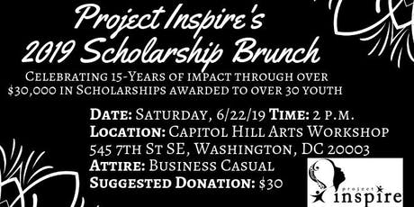 Project Inspire's 2019 Scholarship Brunch: Celebrating 15 years! - Washington, D.C. tickets