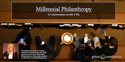 Millennial Philanthropy