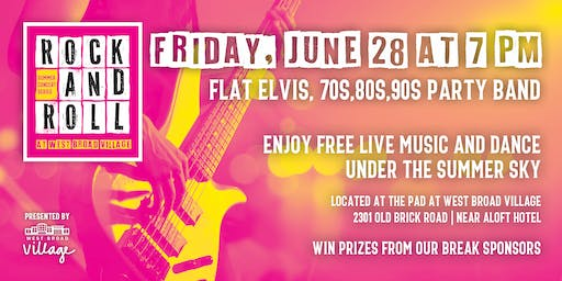 Rock & Roll Summer Concert Series – Flat Elvis