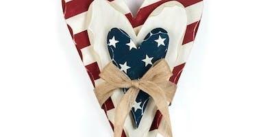 America Heart Wood Workshop