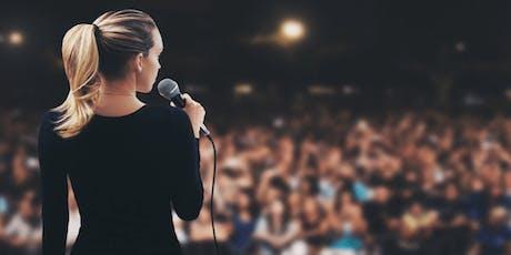 Mastering Public Speaking tickets