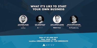 Entrepreneur Talk II: Starting your own business