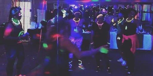 Makem Sweat Glow Party. Winters Birthday Celebration