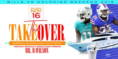 The Takeover: Buffalo Invades Miami Yacht Party tickets