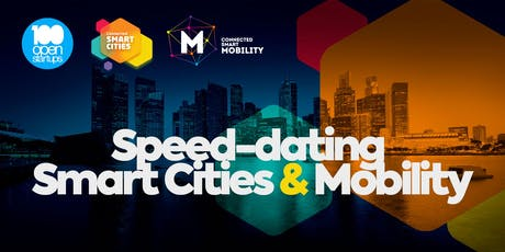 Speed-Dating Smart Cities & Mobility | 100 Open Startups ingressos