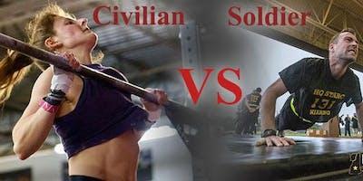 Civilians vs. Soldiers Obstacle Race Fundraiser