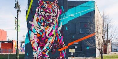 Explore Detroit: Iconic Images Photo Tour - (Street Art and Landmarks)