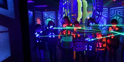 Laser Tag and Ice Skating