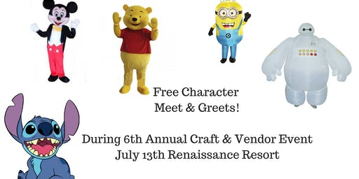 Free Character Meet & Greets