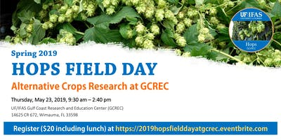 2019 Hops Field Day - Alternative Crops Research at GCREC