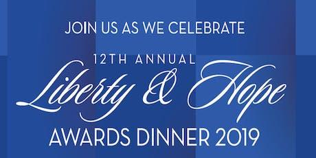 Liberty & Hope Awards tickets