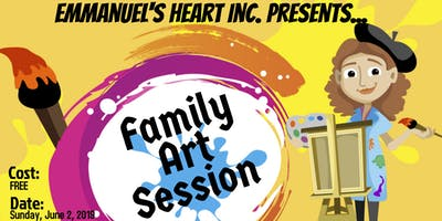 Emmanuel's Heart Inc. presents... Family Art Session 2019