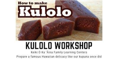 Kulolo Workshop